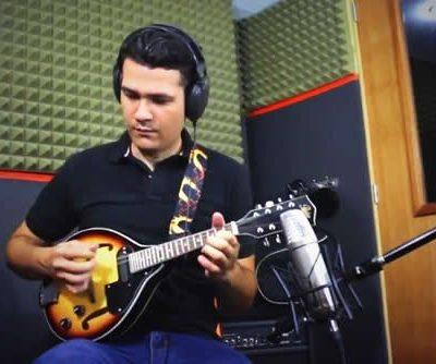 Excelente ejecutor de la mandolina